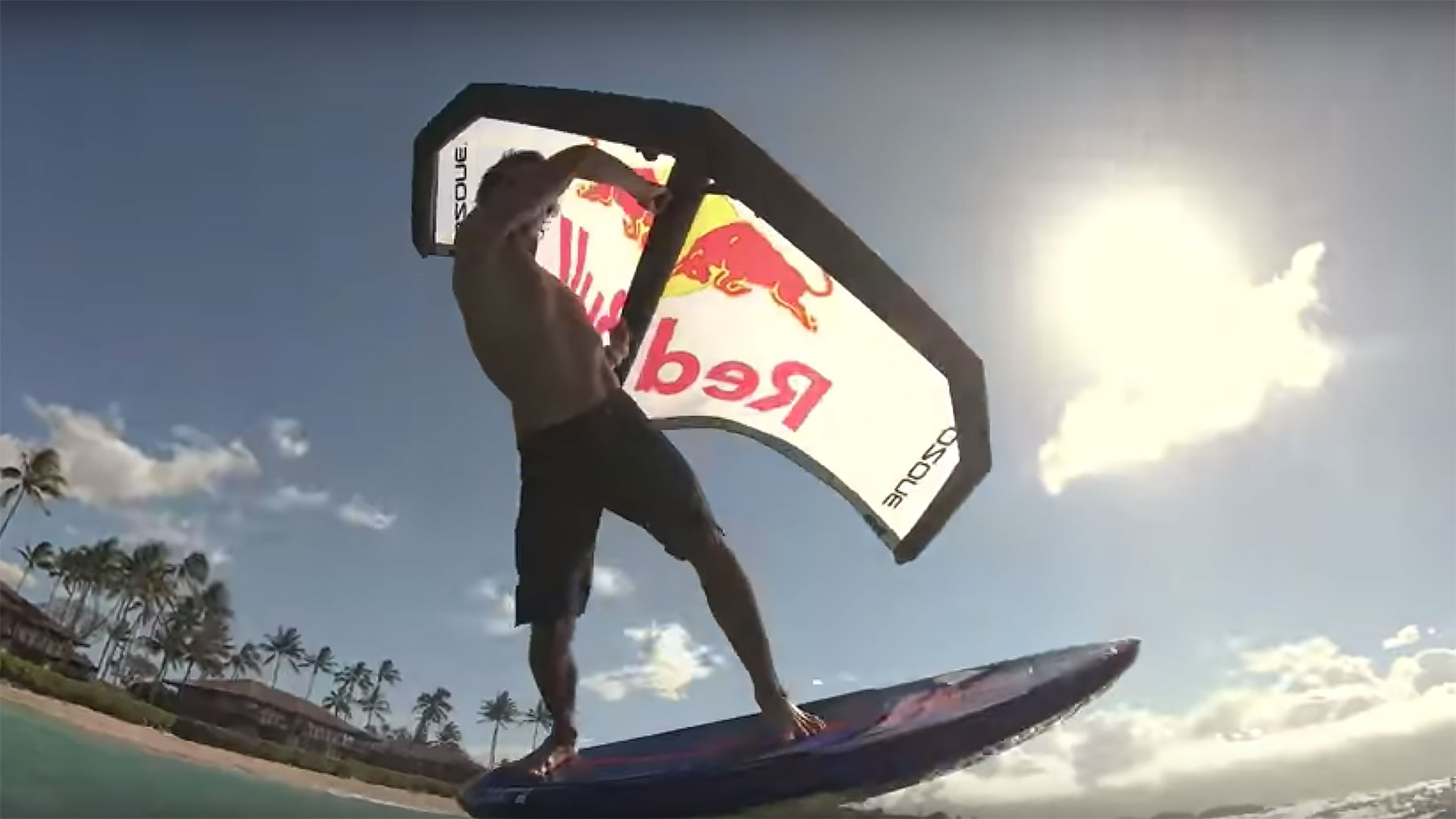 Kai Lenny Wing Surfing