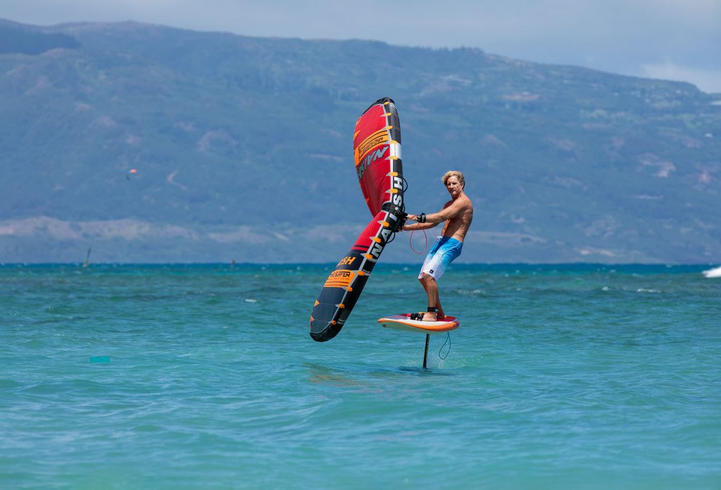 Naish Wing-Surfer and Hover 95 Jet Foil