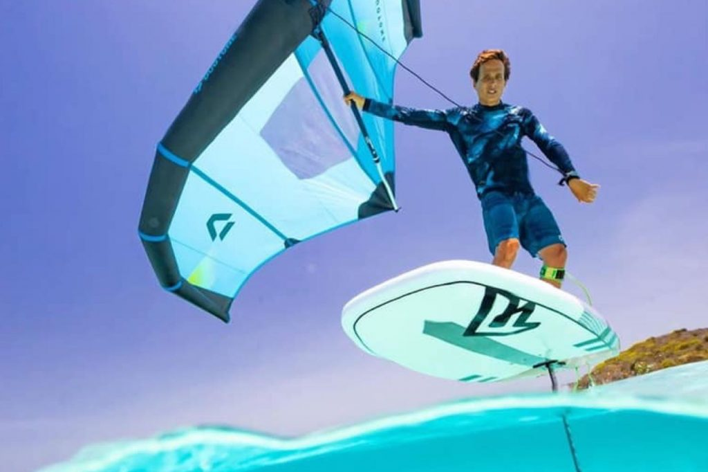 duotone 2020 foil wing in paradise