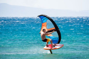 Robby Naish on the S25 wingsurfer