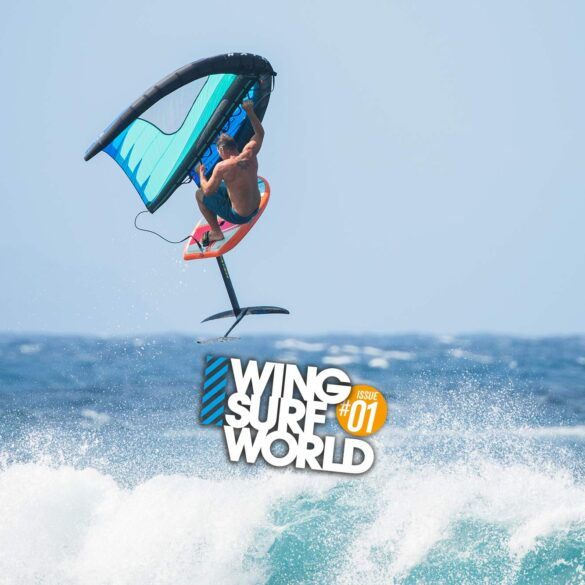 Wingsurf Jumping technique feature in Wing Surf World issue 1