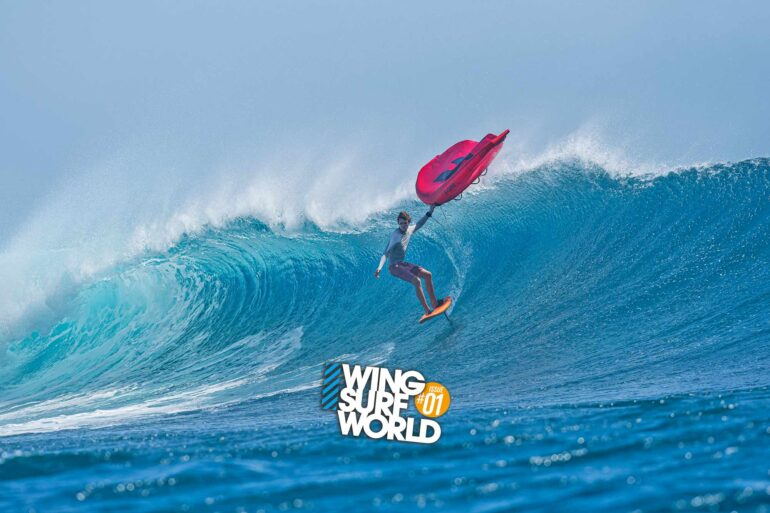 Titouan Galea wingsurfing interview in Wing Surf World magazine