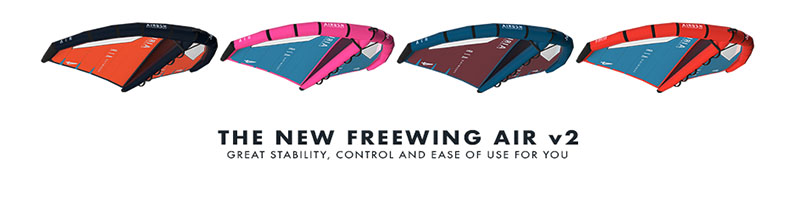 The New Starboard x Airush FreeWing AIR V2
