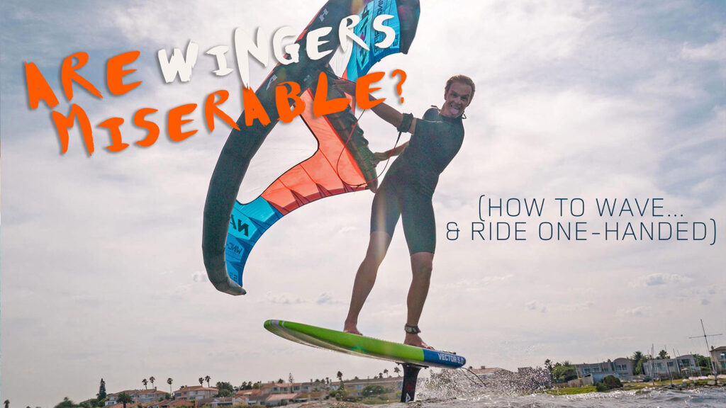 Are Wingsurfers Miserable?