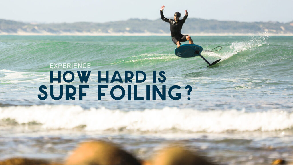surf foiling experience