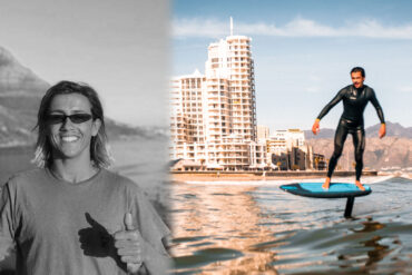 surf foiling experience with Kyle Cabano