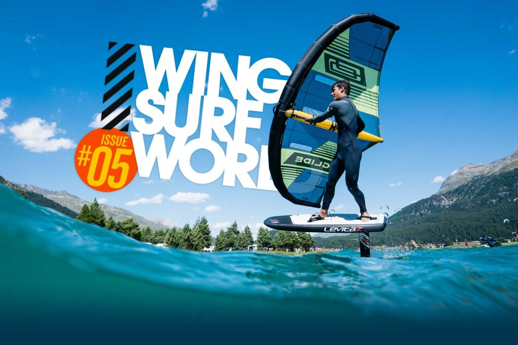Wing Surf World magazine issue #05 front cover