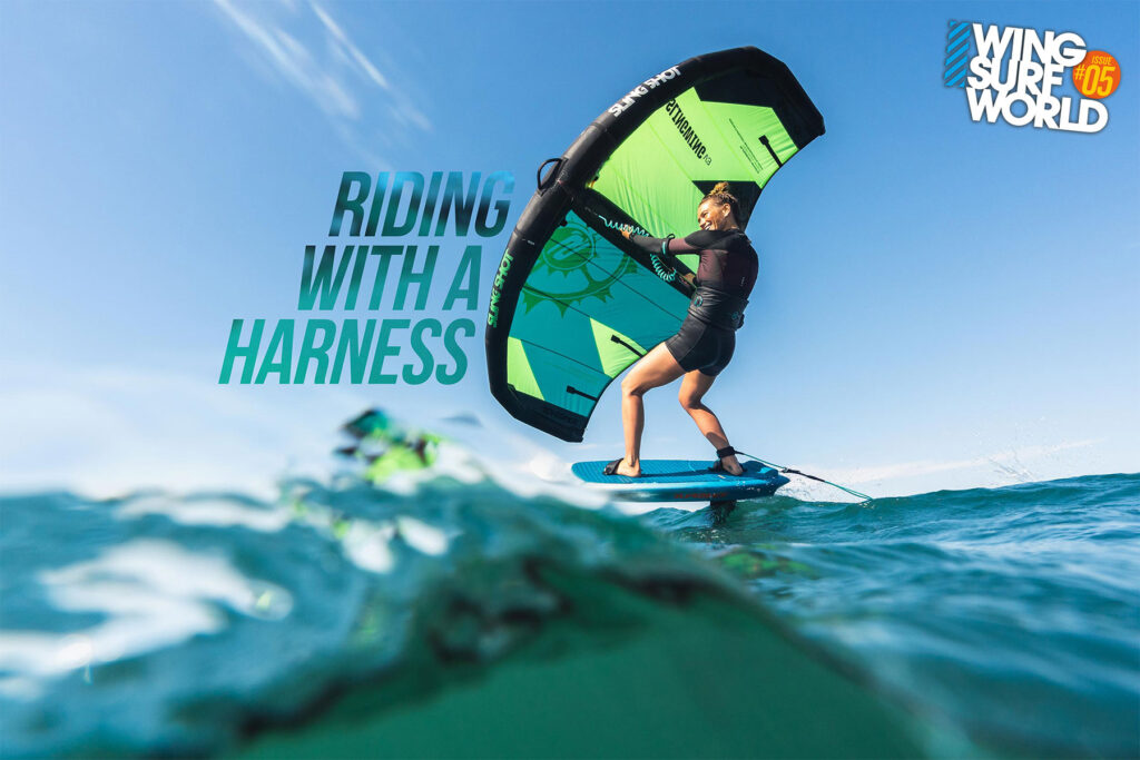 Riding with a harness - Wingsurf